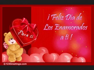 Tarjetas de amor para san Valentin