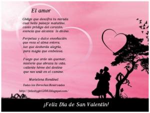 poemas para el 14 de febrero