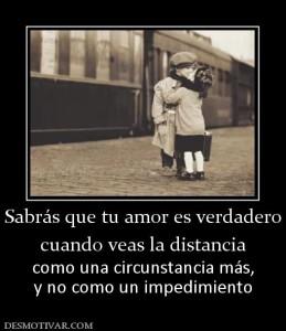 amor verdadero a distancia