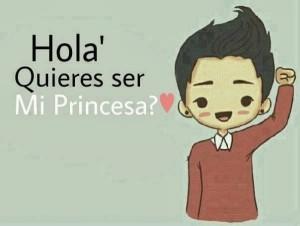 imagenes que digan quieres ser mi princesa