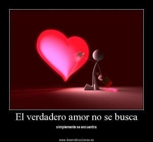 amor sincero y verdadero