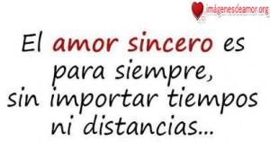 Amor Sincero--