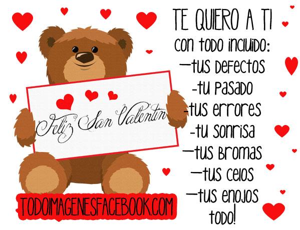 Frases De Amor Para San Valentin Con Imagenes Bonitas De: Imagenes De San Valentin Con Mensajes De Amor