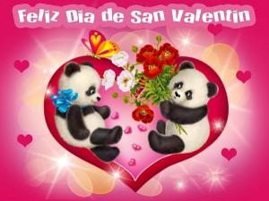 Felicitaciones de san valentin-